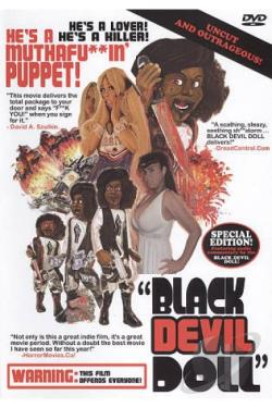Black Devil Doll DVD Cover Art