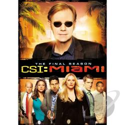 CSI: Miami: The Tenth and Final Season DVD Cover Art