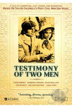 Testimony of Two Men DVD Cover Art