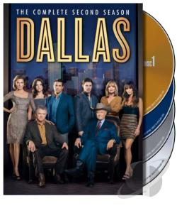 Dallas - The Complete Second Season DVD Cover Art