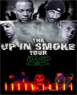 Up In Smoke Tour DVD Cover Art