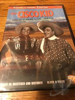 Cisco Kid - 6 Episodes DVD Cover Art