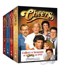 Cheers - The Complete Seasons 1-4 DVD Cover Art