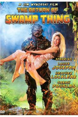 Return of Swamp Thing DVD Cover Art