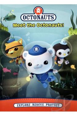 Octonauts: Meet the Octonauts! DVD Cover Art