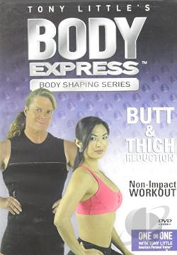 Tony Little's Body Express: Butt & Thigh Reduction DVD Cover Art