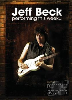 Jeff Beck - Live At Ronnie Scott's DVD Cover Art