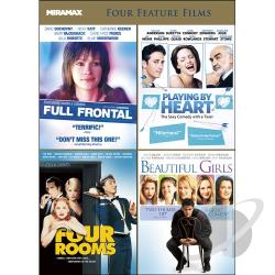 Full Frontal/Playing by Heart/Four Rooms/Beautiful Girls DVD Cover Art