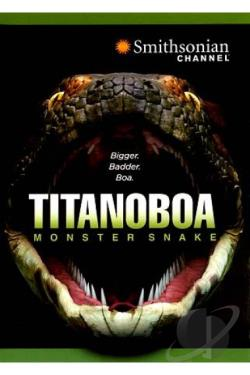 Titanoboa: Monster Snake DVD Cover Art