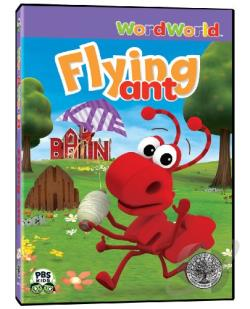 WordWorld: Flying Ant DVD Cover Art