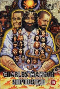 Charles Manson Superstar DVD Cover Art
