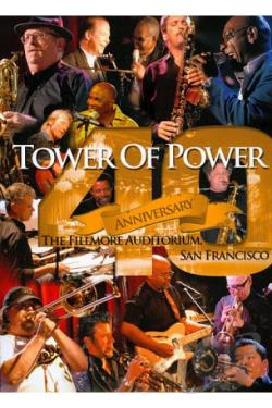 Tower of Power: 40th Anniversary DVD Cover Art