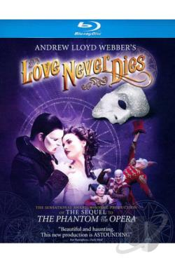 Andrew Lloyd Webber's Love Never Dies BRAY Cover Art
