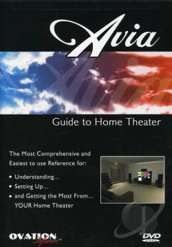 Avia Guide To Home Theater DVD Cover Art
