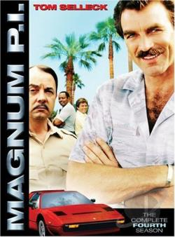 Magnum P.I. - The Complete Fourth Season DVD Cover Art