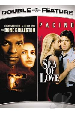 Bone Collector/Sea of Love Double Feature DVD Cover Art
