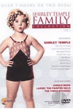 Shirley Temple Family Collection DVD Cover Art