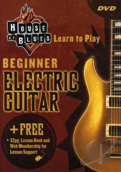 House of Blues Presents - Beginning Electric Guitar DVD Cover Art