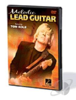 Melodic Lead Guitar DVD Cover Art