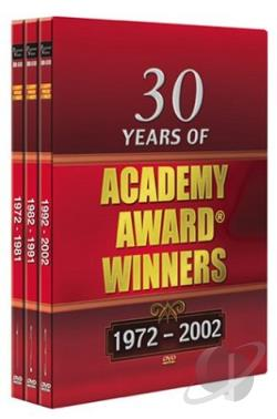 30 Years of Academy Award Winners: 1972-2002 DVD Cover Art