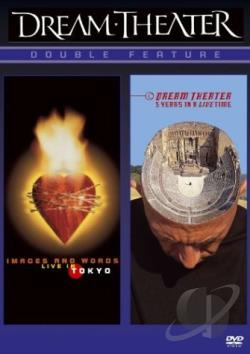Dream Theater - Images & Words/5 Yrs In A Live Time DVD Cover Art