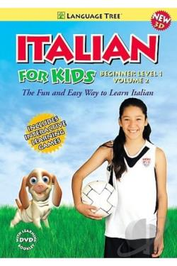 Italian for Kids - Italian Beginners' Level 1, Volume 2 DVD Cover Art