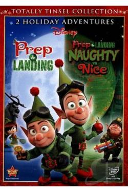 Prep & Landing/Prep & Landing: Naughty vs. Nice DVD Cover Art