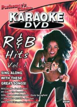 R & B  Hits - Volume One DVD Cover Art