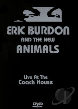 Eric Burdon And The New Animals: Live At The Coach House DVD Cover Art
