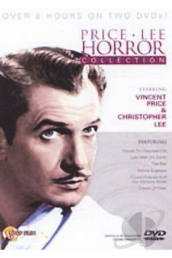 Price/Lee Horror Collection DVD Cover Art