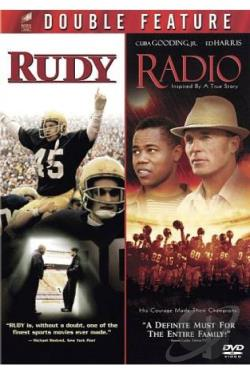 Rudy/Radio DVD Cover Art