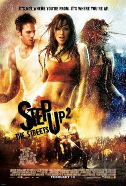 Step Up 2 the Streets DVD Cover Art