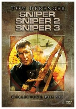 Sniper 3-Pack (Sniper, Sniper 2 and Sniper 3) DVD Cover Art