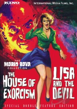 Lisa and the Devil/The House of Exorcism DVD Cover Art