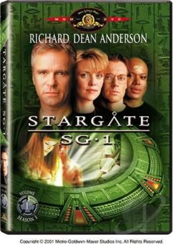 Stargate SG-1 - Season 3: Volume 1 DVD Cover Art