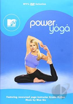 MTV - Power Yoga DVD Cover Art