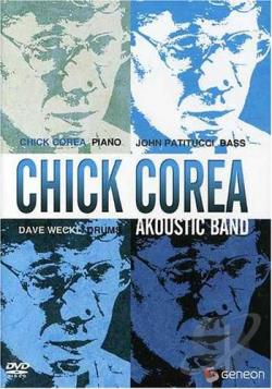 Chick Corea - Acoustic Band 1991 DVD Cover Art