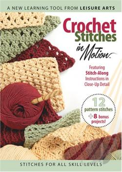 Crochet Stitches in Motion DVD Cover Art