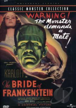 Bride of Frankenstein DVD Cover Art