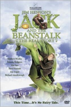 Jack and the Beanstalk DVD Cover Art