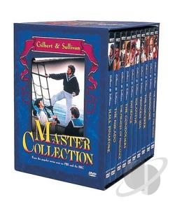 Gilbert & Sullivan: Master Collection DVD Cover Art