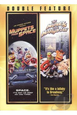 Muppets from Space/The Muppets Takes Manhattan DVD Cover Art