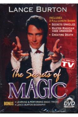Secrets Of Magic DVD Cover Art