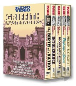 Griffith Masterworks DVD Cover Art