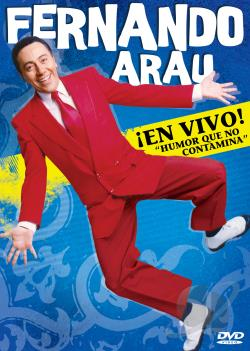Fernando Arau - Ien Vivo! DVD Cover Art