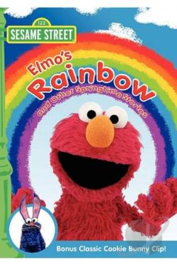 Sesame Street: Elmo's Rainbow and Other Springtime Stories DVD Cover Art