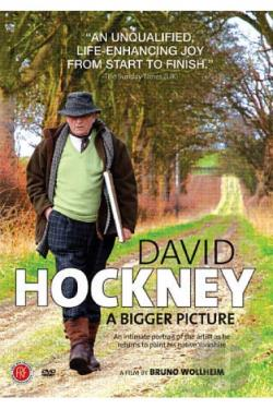 David Hockney: A Bigger Picture DVD Cover Art