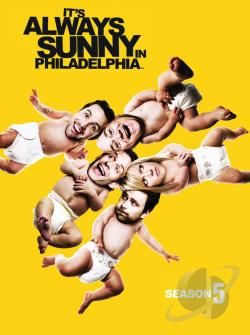 It's Always Sunny in Philadelphia - The Complete Fifth Season DVD Cover Art