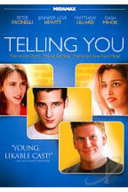 Telling You DVD Cover Art