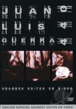 Juan Luis Guerra - Grandes Exitos En Video DVD Cover Art